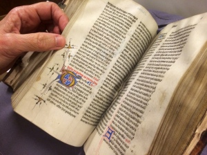 The 1440 Wycliffe manuscript is the collection's most valuable book.