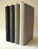 The Biblical Literature designed and crafted for reading, separated into four elegant volumes, and free of all numbers and annotations.