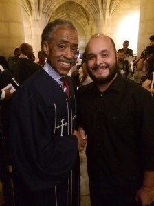 It was honor to meet Rev. Sharpton and shake his hand.