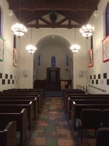 Inside the Interfaith Chapel