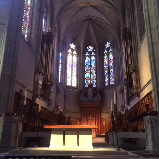 The sanctuary.