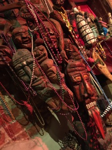 In the Voodoo Museum