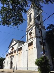 Saint Augustine Church. Faubourg Treme, New Orleans